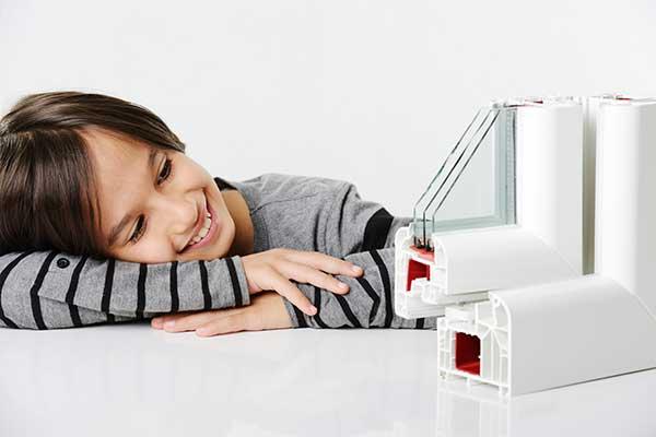 Pérfil de una ventana fabricado por Bersa que es seguridad y confort para tu hogar