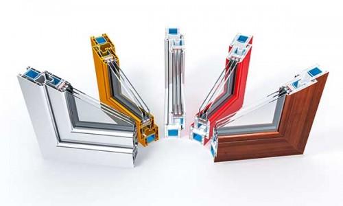 Perfil de PVC con colores alegres o imitación a madera