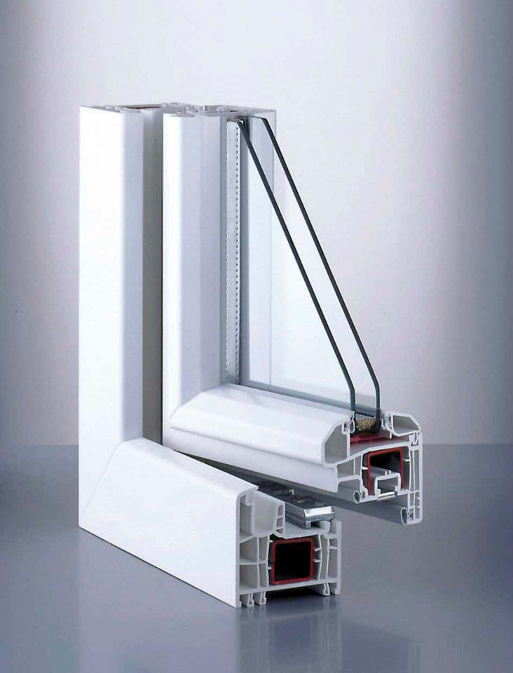 Perfil ventana pvc aislamiento