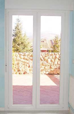 Mostramos aquí el aspecto de la ventana en pvc ya finalizada su instalación por los técnicos de la empresa fabricante de ventanas Bersa